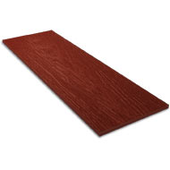Сайдинг фиброцементный DECOVER Wood Bordo 1800x190x8 мм